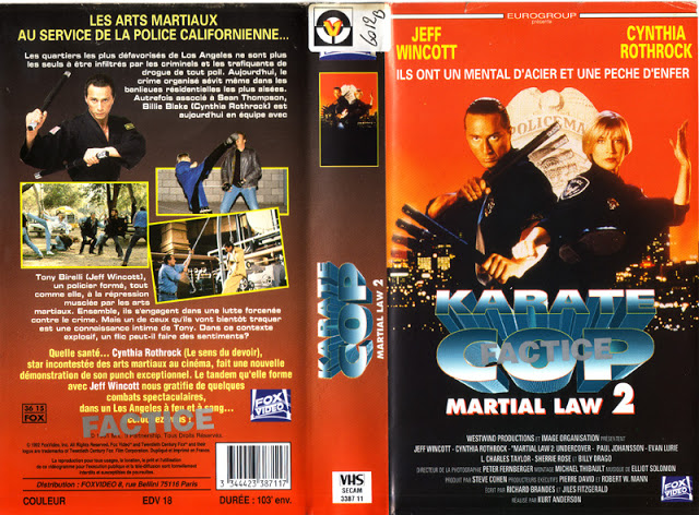 martial law 2 karate_copvhs fr